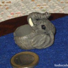 Figuras de Goma y PVC: ANILLO DE PLASTICO ELEFANTE,DUNKIN O SIMILAR.. Lote 110810843