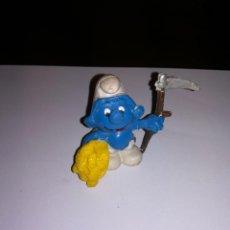 Figuras de Goma y PVC: PITUFOS BOOTLEG MADE IN SPAIN AÑOS 80. Lote 110814399