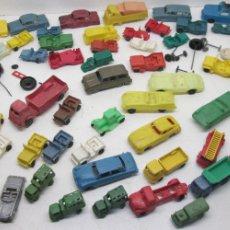 Figuras de Goma y PVC: LOTE COCHES Y CAMIONES DE PLÁSTICO, TIPO MONTAPLEX, DE KIOSCO, QUIOSCO, KIOSKO. Lote 110836648