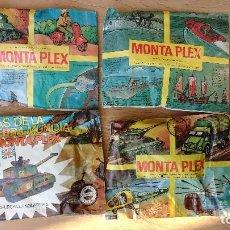 Figuras de Goma y PVC: LOTE 4 SOBRES MONTAPLEX. Lote 110899987