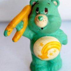 Figuras de Goma y PVC: OSO AMOROSO VERDE AGC MUÑECO DE GOMA O PVC MIDEN UNOS 5 CM AÑO 1983 LOS OSOS AMOROSOS. Lote 110914719