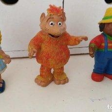 Figuras de Goma y PVC: LOS MUNDOS DE YUPI , DON PIMPON CHICA - BARRIO SESAMO. Lote 110962771