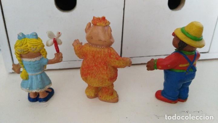 Figuras de Goma y PVC: los mundos de yupi , don pimpon chica - barrio sesamo - Foto 2 - 110962771
