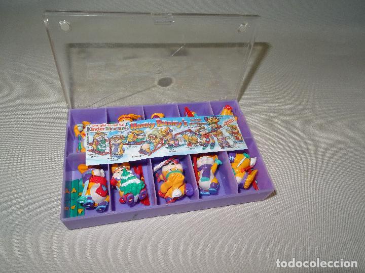 Figuras Kinder: Antigua Colección Completa HANNY BUNNY de KINDER en Caja Coleccionista - Año 1996 - Foto 2 - 111060395