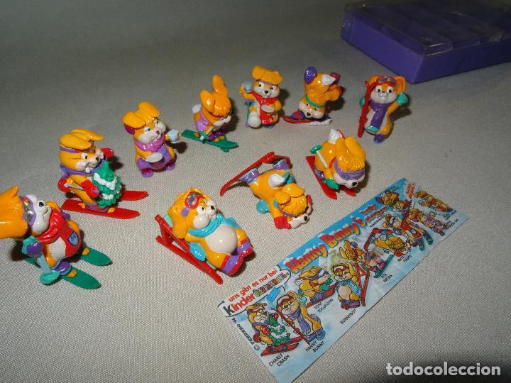 Figuras Kinder: Antigua Colección Completa HANNY BUNNY de KINDER en Caja Coleccionista - Año 1996 - Foto 3 - 111060395
