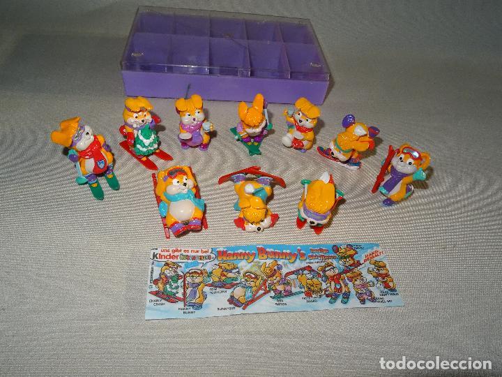 Figuras Kinder: Antigua Colección Completa HANNY BUNNY de KINDER en Caja Coleccionista - Año 1996 - Foto 4 - 111060395