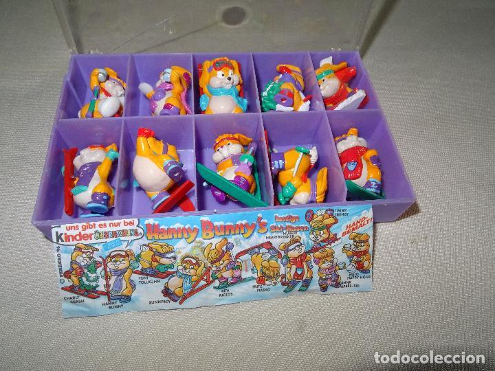 Figuras Kinder: Antigua Colección Completa HANNY BUNNY de KINDER en Caja Coleccionista - Año 1996 - Foto 5 - 111060395