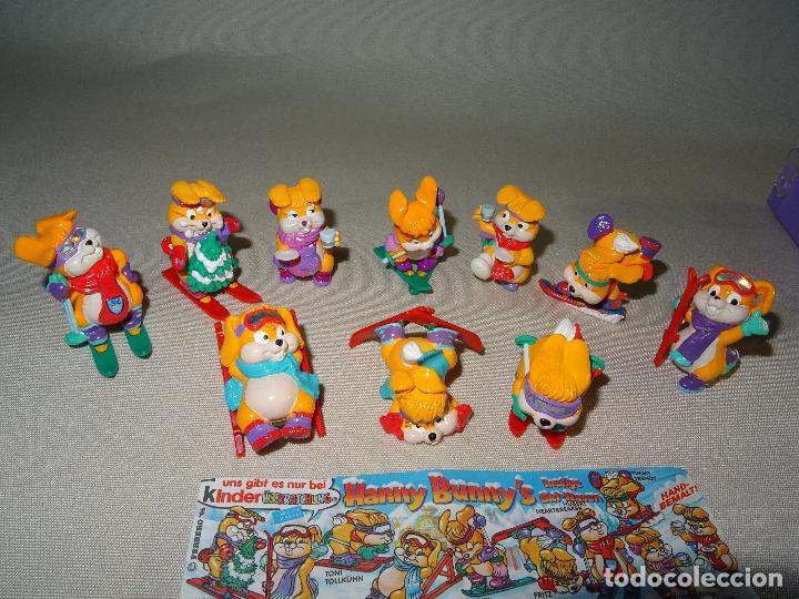 Figuras Kinder: Antigua Colección Completa HANNY BUNNY de KINDER en Caja Coleccionista - Año 1996 - Foto 7 - 111060395