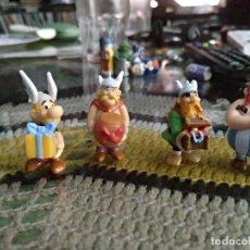 Figuras Kinder: LOTE 4 FIGURAS DE ASTERIX Y OBELIX - KINDER SORPRESA. Lote 111107423