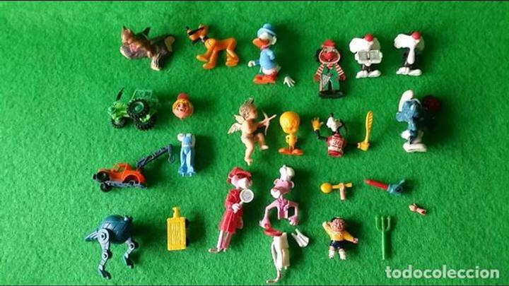 LOTE FIGURAS HUEVOS KINDER Y VARIOS (Juguetes - Figuras de Gomas y Pvc - Kinder)