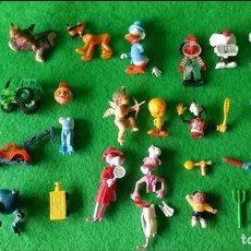 Figuras Kinder: LOTE FIGURAS HUEVOS KINDER Y VARIOS. Lote 111192671