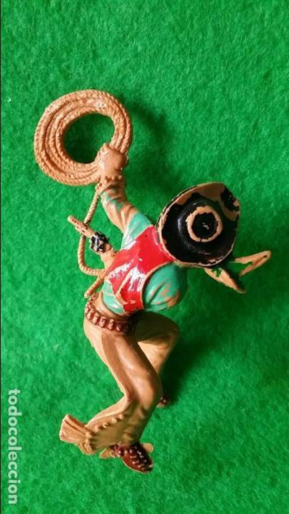 Figuras de Goma y PVC: VAQUEROS PISTOLEROS A CABALLO DE LAFREDO - Foto 7 - 111193327