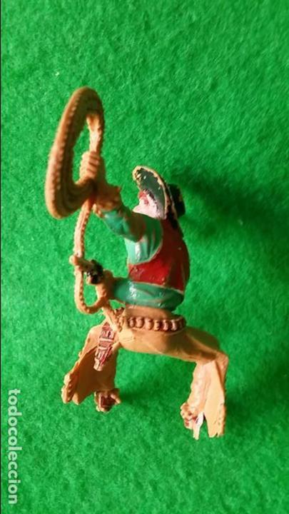 Figuras de Goma y PVC: VAQUEROS PISTOLEROS A CABALLO DE LAFREDO - Foto 8 - 111193327