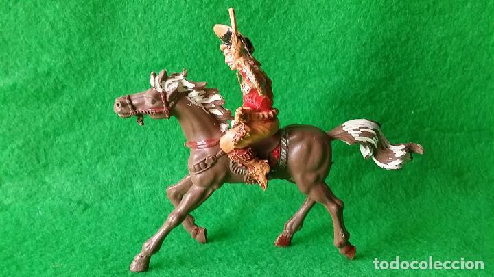 Figuras de Goma y PVC: VAQUEROS PISTOLEROS A CABALLO DE LAFREDO - Foto 9 - 111193327