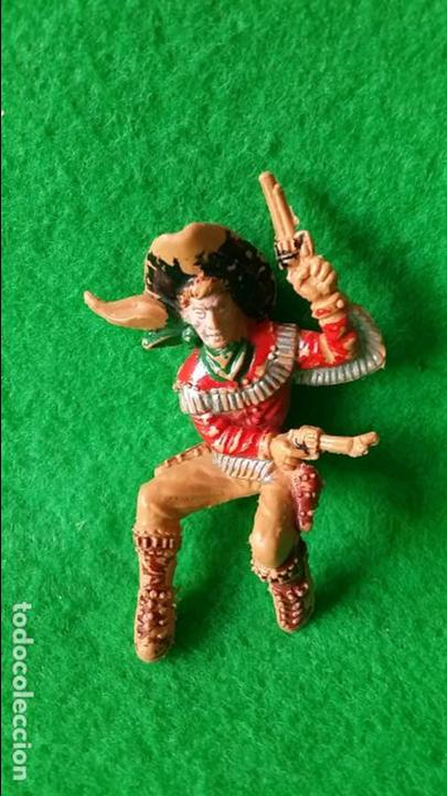 Figuras de Goma y PVC: VAQUEROS PISTOLEROS A CABALLO DE LAFREDO - Foto 12 - 111193327
