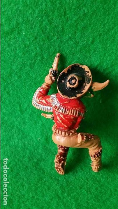 Figuras de Goma y PVC: VAQUEROS PISTOLEROS A CABALLO DE LAFREDO - Foto 13 - 111193327