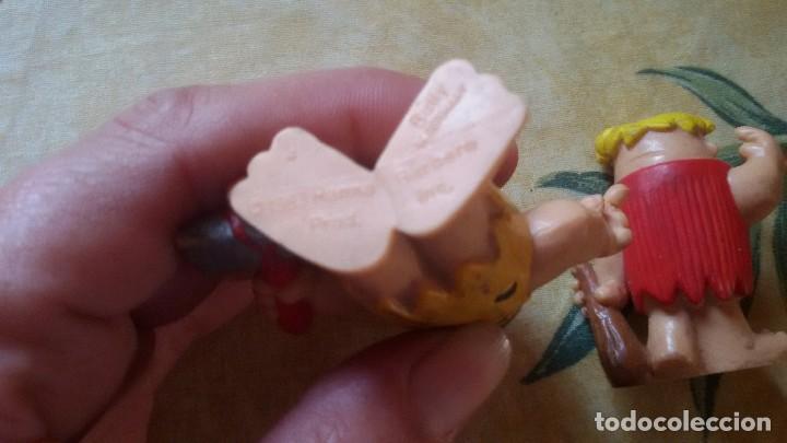 Figuras de Goma y PVC: Figuras de pedro picapiedra y pablo ,pvc 1983,bully - Foto 3 - 111276115