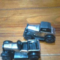 Figuras Kinder: LOTE 2,COCHECITOS DE METAL Y GOMA O PVC,COLECCION KO2N 94 Y KO2N 97. Lote 111281936
