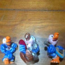 Figuras de Goma y PVC: LOTE 3 FIGURAS,DE GOMA O PVC,COLECCION FERRERO DEL AÑO 1998. Lote 111287770