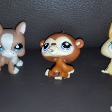 Figuras de Goma y PVC: LOTE DE MUÑECOS LITTLEST PET SHOP. Lote 111297024