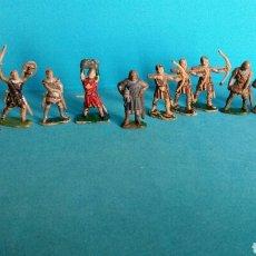 Figuras de Goma y PVC: LOTE SOLDADOS MEDIEVALES RICARDO CORAZÓN DE LEÓN REAMSA. Lote 111330984