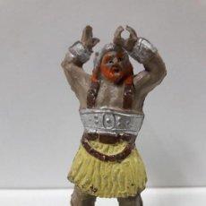 Figuras de Goma y PVC: VIKINGO . SERIE EL CAPITAN TUENO . REALIZADA POR JIN . AÑOS 50 EN GOMA. Lote 111370439