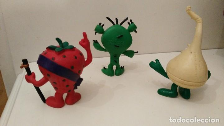Figuras de Goma y PVC: fruittis - los fruittis - cactus -freson -nabo - comics spain - Foto 2 - 111380175