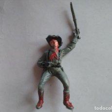 Figuras de Goma y PVC: FIGURA SOLDADO CONFEDERADO PECH. Lote 120223371