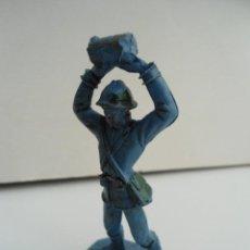 Figuras de Goma y PVC: SOLDADOS DEL MUNDO - SOLDADO DE PLASTICO FRANCES - 1ª GUERRA MUNDIAL - COMANSI Nº 1009 - AÑOS 70/80. Lote 111384483