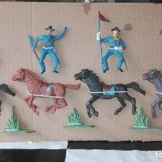 Figuras de Goma y PVC: JECSAN FEDERALES. Lote 111417755