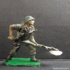Figuras de Goma y PVC: PECH AMERICANO MARINE. Lote 111516587