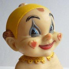 Figuras de Goma y PVC: PAYASO DE GOMA - AÑOS 50 - EXCELENTEMENTE CONSERVADO - PIEZA DE COLECCIONISTA. Lote 111517391