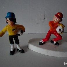 Figuras de Goma y PVC: LOTE OLIVER Y BENJI. FIGURA + FIGURA PORTABOLIS. YOLANDA COMANSI. Lote 111533519
