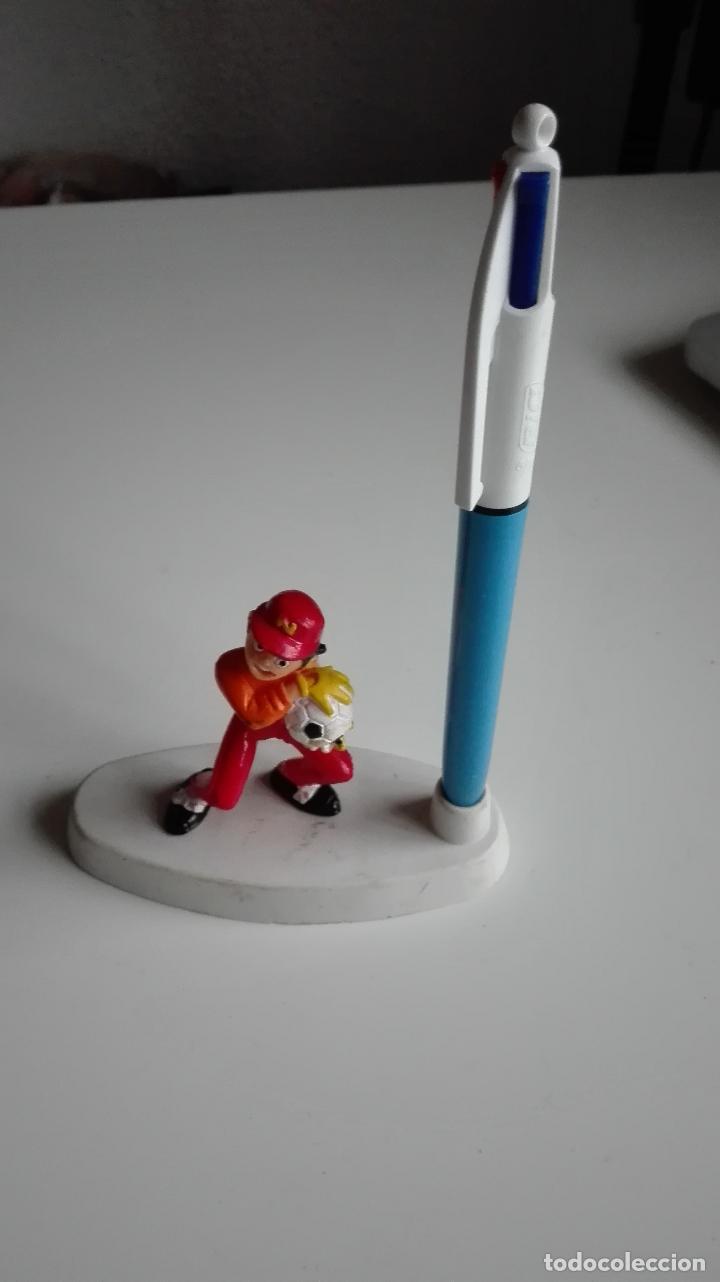 Figuras de Goma y PVC: lote oliver y benji. figura + figura portabolis. yolanda comansi - Foto 2 - 111533519