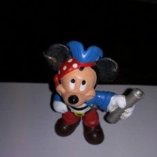 Figuras de Goma y PVC: WALT DISNEY BULLY MICKEY MOUSE PIRATA FIGURA PVC. Lote 111540475