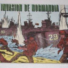 Figuras de Goma y PVC - MONTAPLEX - HOBBY PLAST - SOBRE VACÍO INVASION DE NORMANDIA - PERTENECE AL Nº 1004/c - SOBRE S/N - 111570163