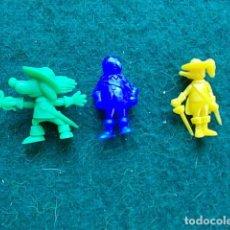 Figuras de Goma y PVC: LOTE FIGURAS DE DARTACAN Y LOS MOSQUEPERROS. Lote 111572119