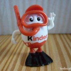 Figuras Kinder: FIGURA KINDERINO - SUBMARINISTA. Lote 111592331