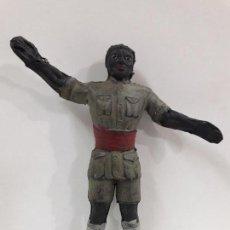 Figuras de Goma y PVC: ASKARI . REALIZADO POR ARCLA . AÑOS 50 . EN GOMA - INTERIOR ALAMBRE. Lote 111622103