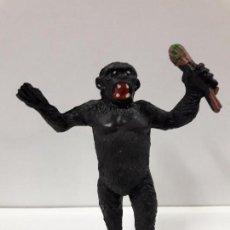 Figuras de Goma y PVC: GORILA CON RAMA . REALIZADO POR TEIXIDO . AÑOS 50 EN GOMA. Lote 111629079