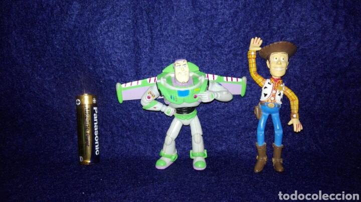 disney pixar. toy story. figuras pvc. woody y b - Comprar Figuras de ... cfb60092610