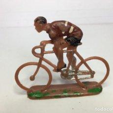 Figurines en Caoutchouc et PVC: FIGURA CICLISTA DE SOTORRES. Lote 111802431