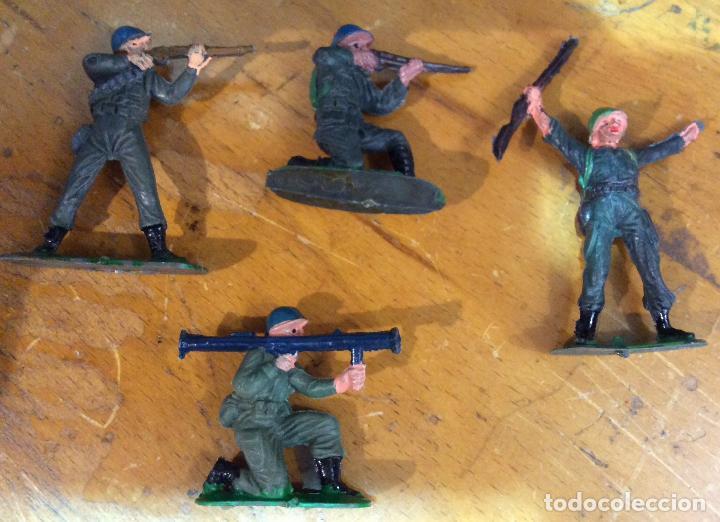 Figuras de Goma y PVC: CASCOS AZULES CON TANQUE DE JECSAN - Foto 3 - 111851431