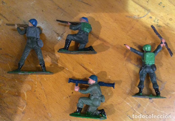 Figuras de Goma y PVC: CASCOS AZULES CON TANQUE DE JECSAN - Foto 4 - 111851431