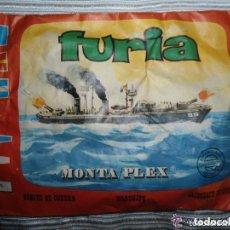 Figuras de Goma y PVC: ANTIGUO SOBRE MONTAPLEX - BUQUES DE GUERRA - FURIA - NUMERO 436 - SIN ABRIR. Lote 111980959
