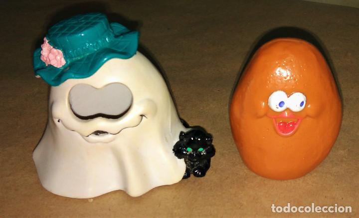 Figuras de Goma y PVC: Figura Patata disfraz Halloween Fantasma manta Happy Meal Mc Donalds 1993 McNugget Buddies McBoo - Foto 2 - 112016879