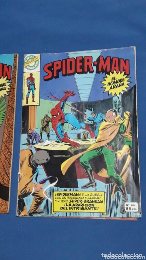 Figuras de Goma y PVC: LOTE 3 COMICS SPIDERMAN N°42-58-66 EDICION BRUGUERA 1978 - Foto 4 - 152975496