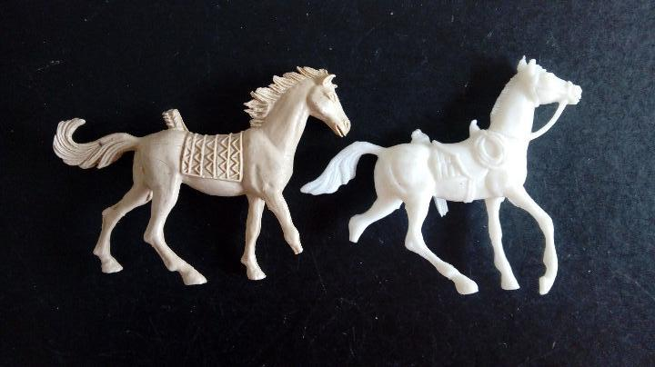 Figuras de Goma y PVC: COMANSI 2ª ÉPOCA: LOTE OESTE DE INDIOS Y COWBOYS/VAQUEROS + 2 CABALLOS. ORIGINALES AÑOS 70. PTOY - Foto 10 - 112059595