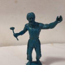 Figuras de Goma y PVC: INDIO EN PLASTICO TAMAÑO GRANDE. Lote 112118943