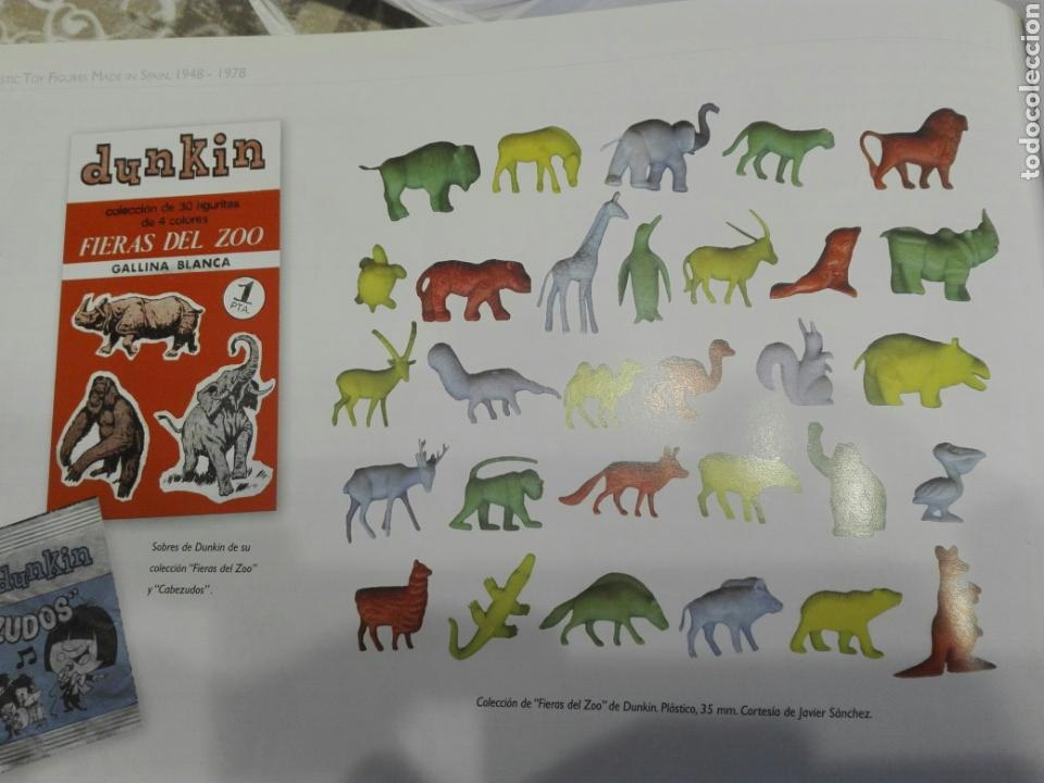 Figuras de Goma y PVC: Colección dunkin Fieras del zoo, 27 de las 30. Buen estado - Foto 4 - 112134664
